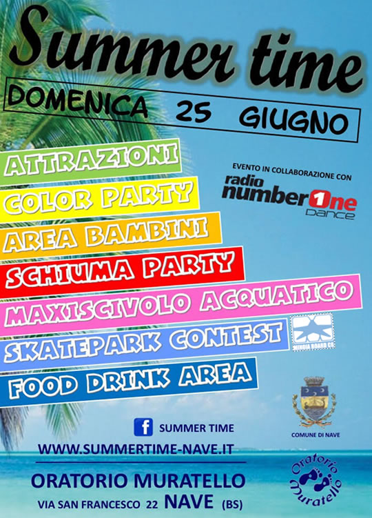 Summer Time a Nave