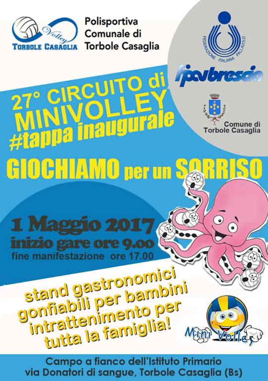 Tappa Inaugurale Minivolley a Torbole Casaglia