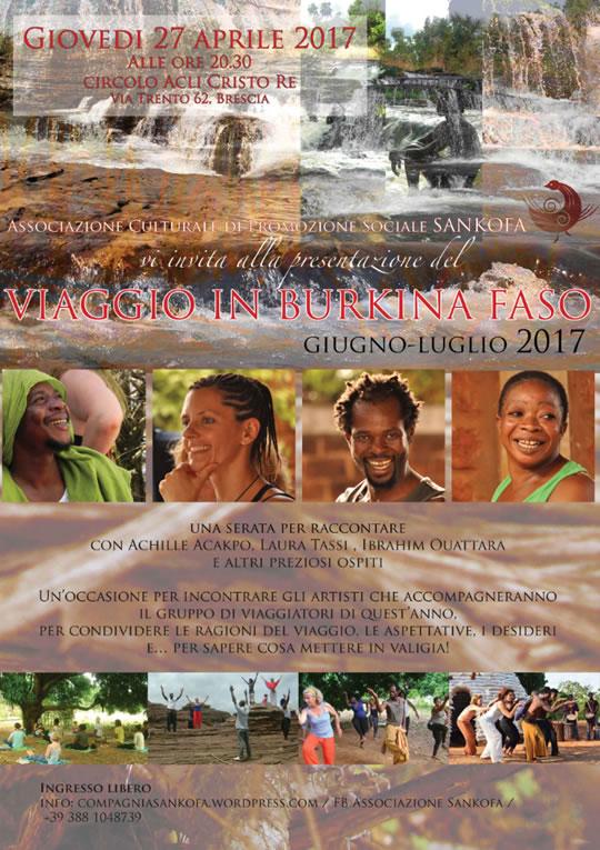 Un Viaggio in Burkina Faso a Brescia