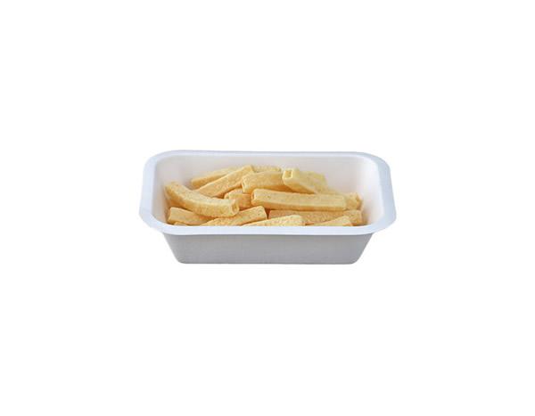 vaschetta compostabile per patatine 80041