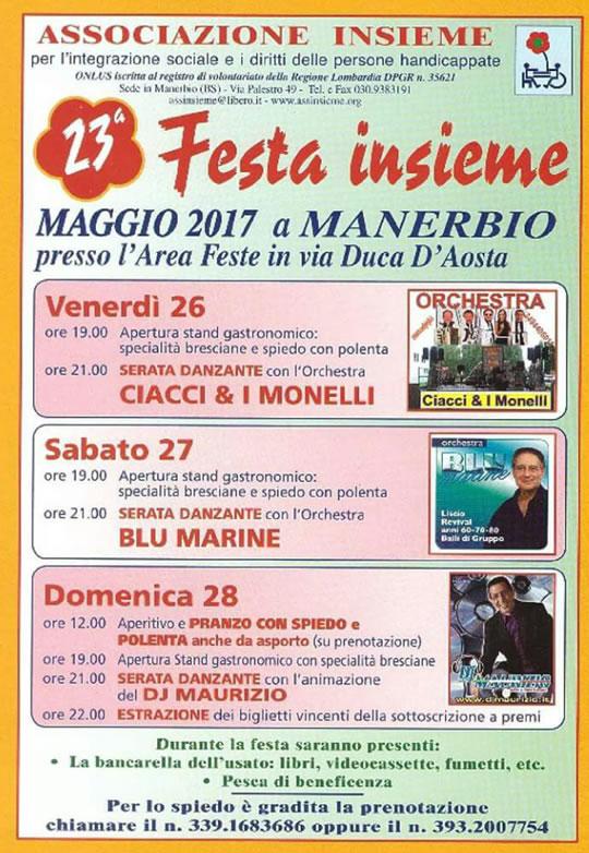 23 Festa Insieme a Manerbio