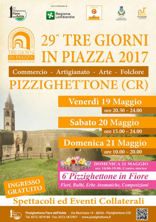 29° Tre Giorni in Piazza a Pizzighettone (CR)