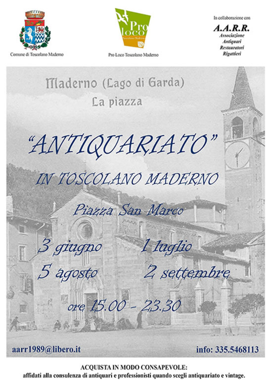 Antiquariato in Toscolano Maderno