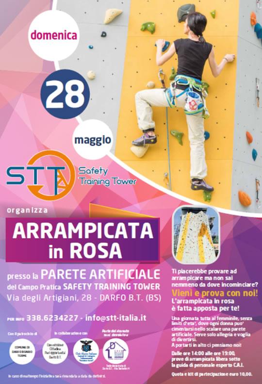 Arrampicata in Rosa a Darfo Boario Terme