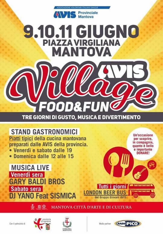 Avis Village a Mantova
