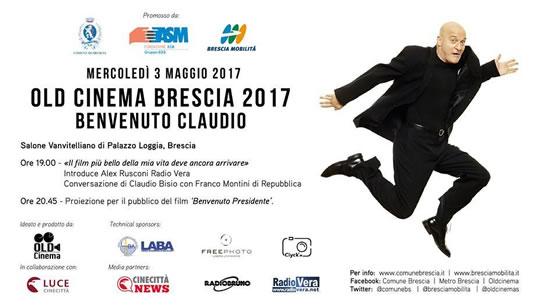 Benvenuto Claudio a Brescia