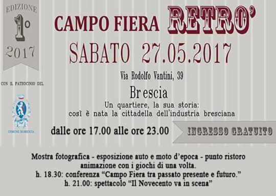 Campo Fiera Retrò a Brescia