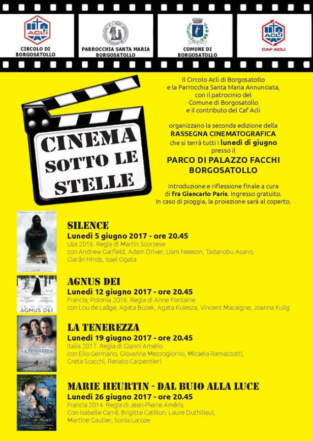 Cinema Sotto le Stelle a Borgosatollo