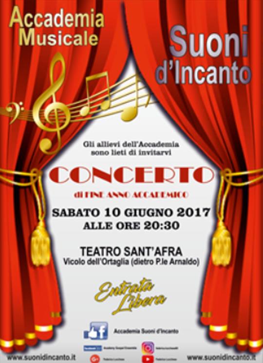 Concerto Accademia di Canto a Brescia