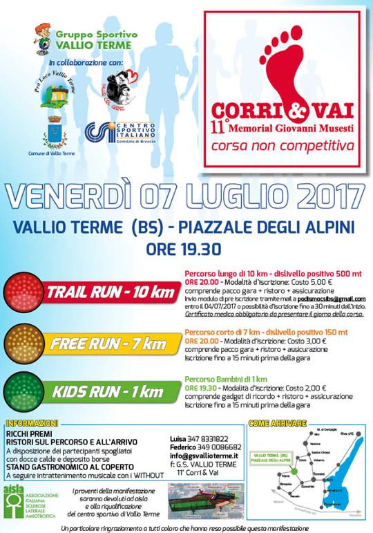 Corri e Vai a Vallio Terme
