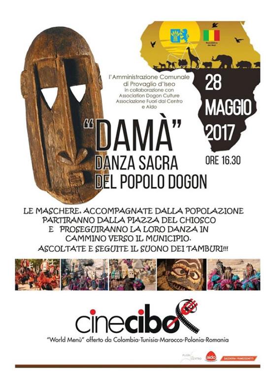 Damà Danza Sacra del Popolo Dogon a Provaglio d'Iseo