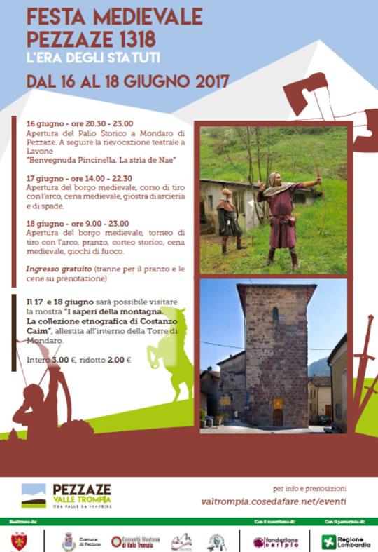 Festa Medievale Pezzaze 1318