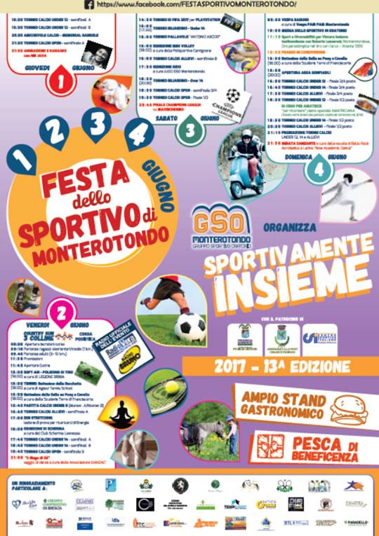 Festa dello Sportivo di Monterotondo