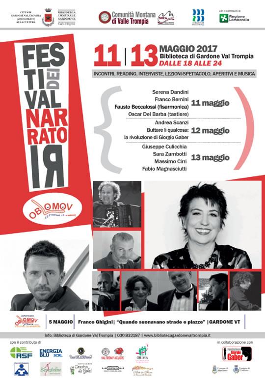 Festival dei Narratori a Gardone Val Trompia