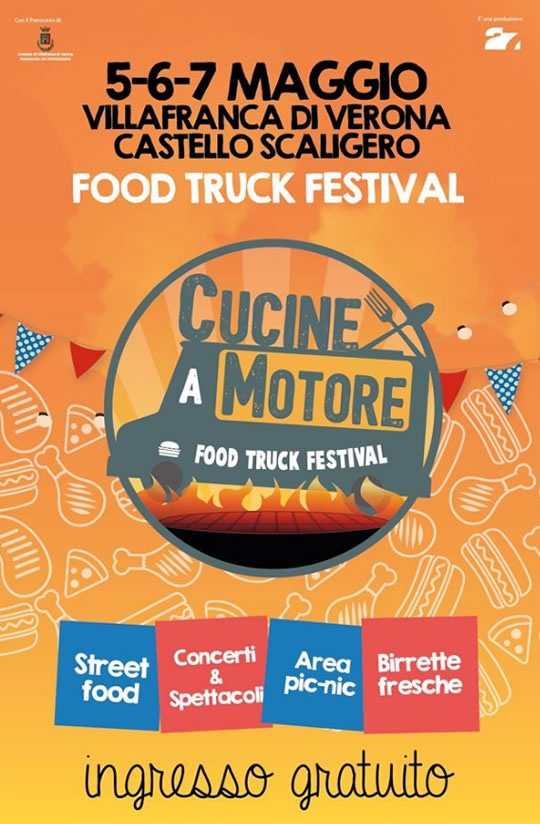 Food Truck Festival a Villafranca di Verona