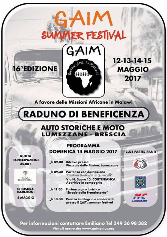 Gaim Summer Festival a Lumezzane