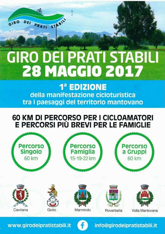 Giro dei Prati Stabili in Provincia di Mantova