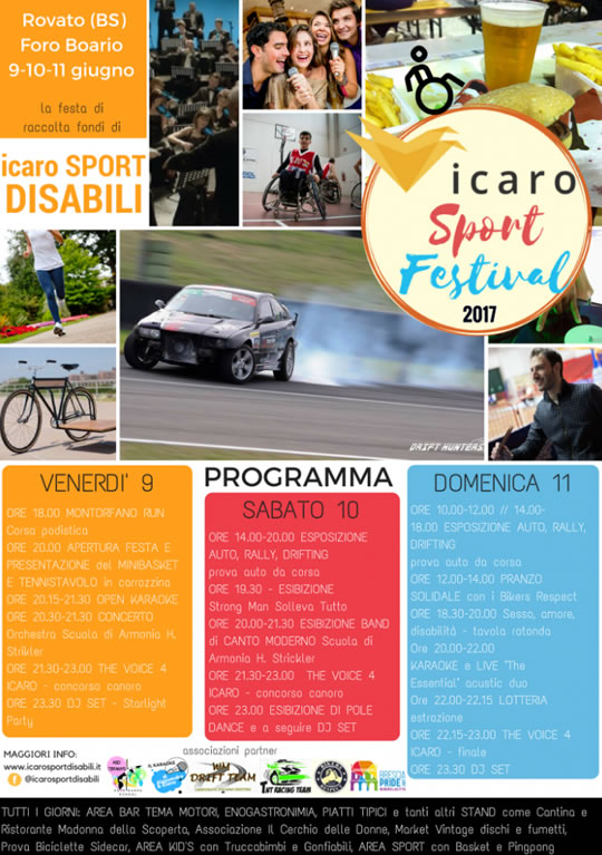 Icaro Sport Festival a Rovato