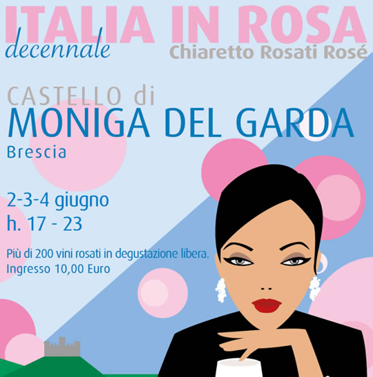 Italia in Rosa a Moniga del Garda