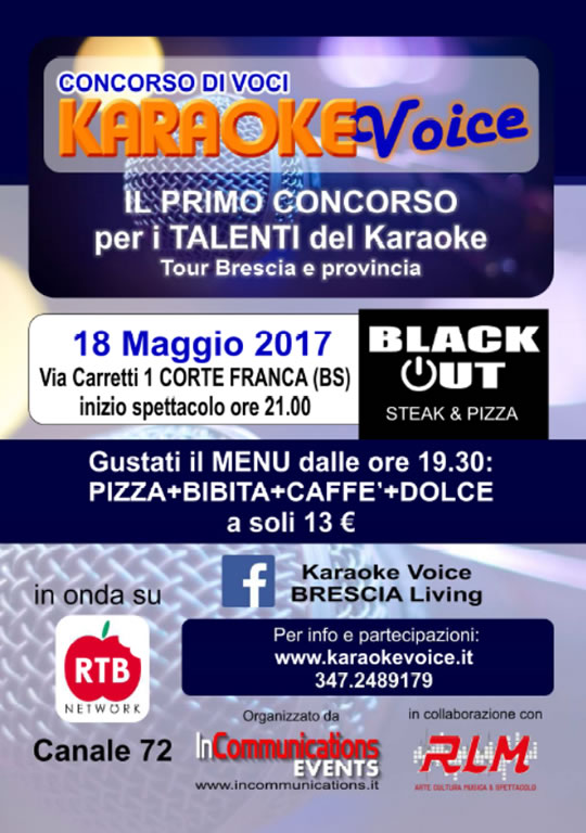 Karaoke Voice a Corte Franca