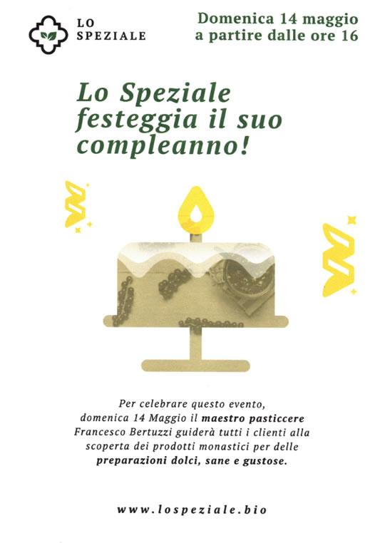 Lo Speziale festeggia il suo compleanno
