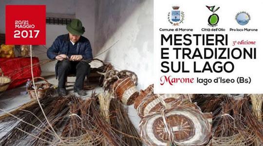 Mestieri e Tradizioni sul Lago a Marone