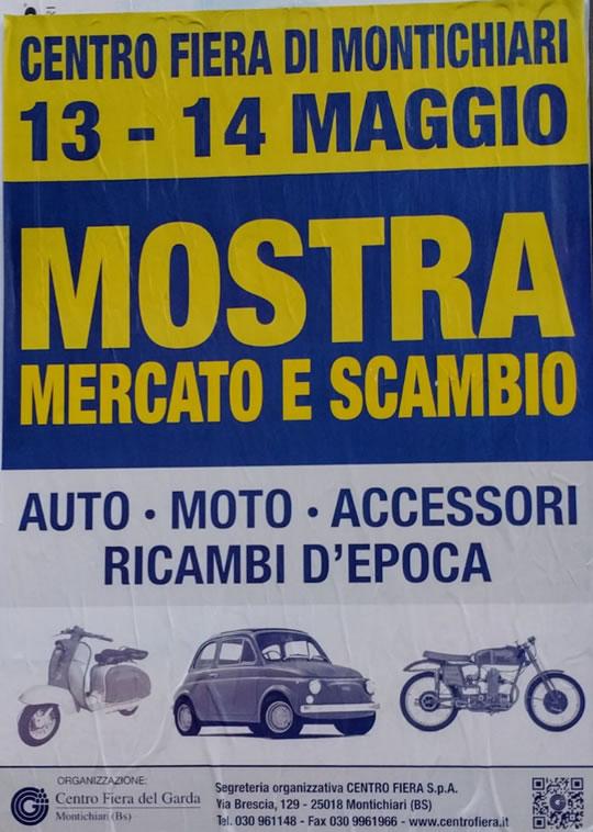 Mostra Mercato e Scambio Auto Moto Accessori Ricambi a Montichiari