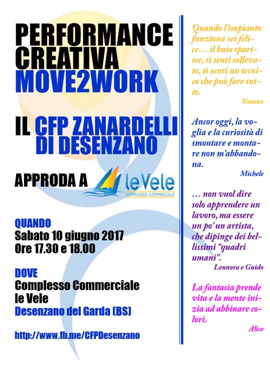 Move2Work Performance creativa a Desenzano
