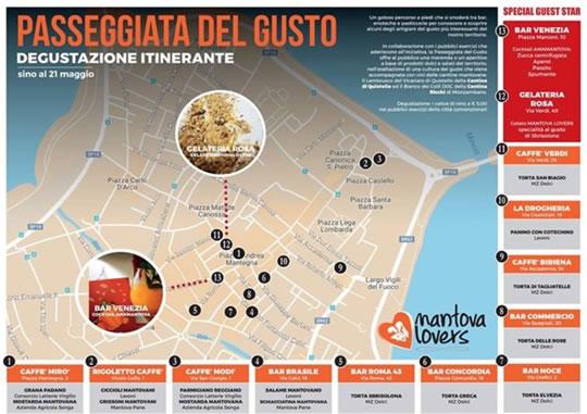 Passeggiata del Gusto a Mantova