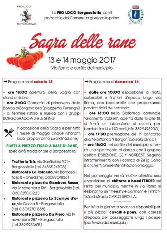 Sagra delle Rane a Borgosatollo
