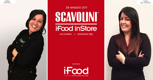 Show-cooking a Concesio