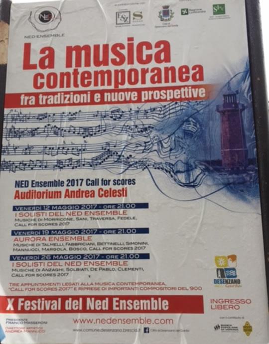 X Festival del Ned Ensemble a Desenzano