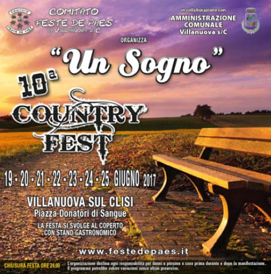 10 Country Fest a Villanuova sul Clisi