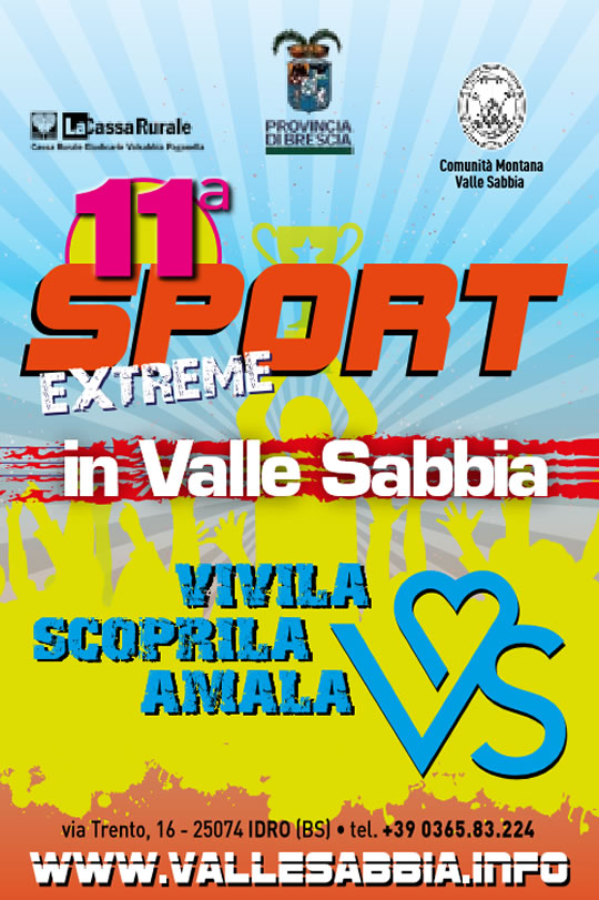 11 Sport Extreme in Valle Sabbia