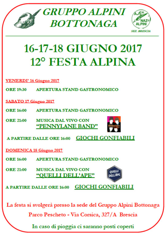 12 Festa Alpina Bottonaga Brescia