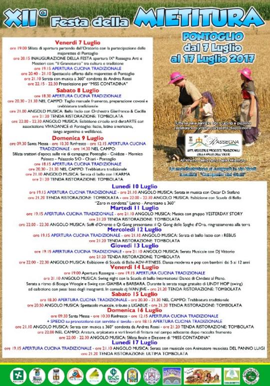 12 Festa della Mietitura a Pontoglio