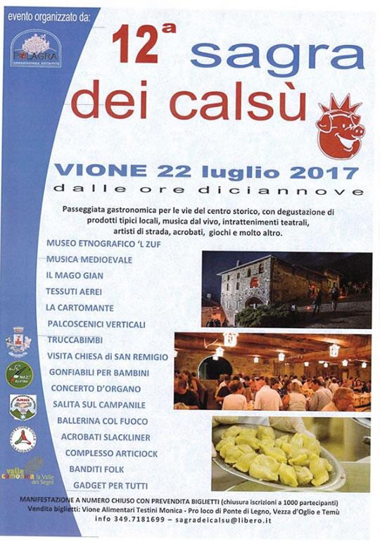 12 Sagra del Calsù a Vione