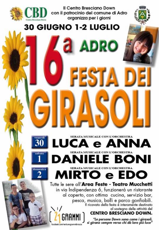 16 Festa dei Girasoli ad Adro