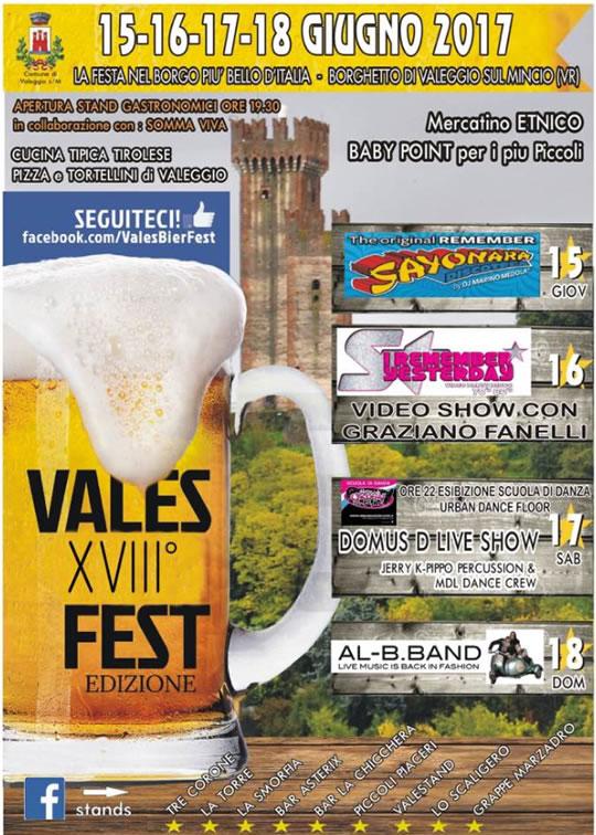 18 Vales Fest a Valeggio sul Mincio