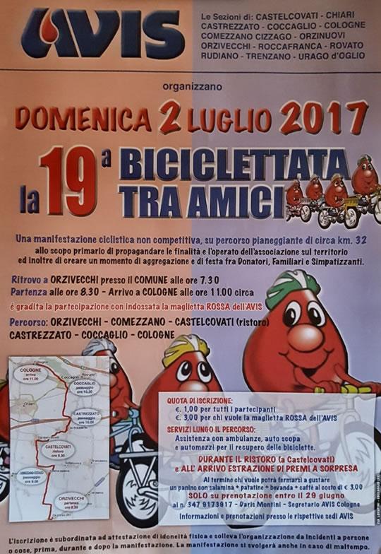 19° biciclettata tra amici a Orzivecchi