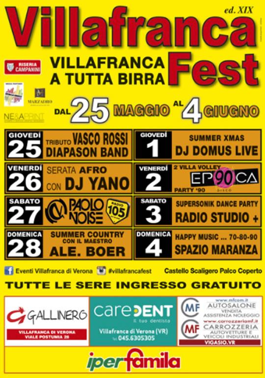 19 Villafranca Fest VR