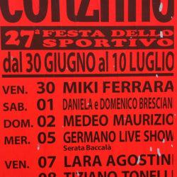27 Festa dello Sportivo a Corzano