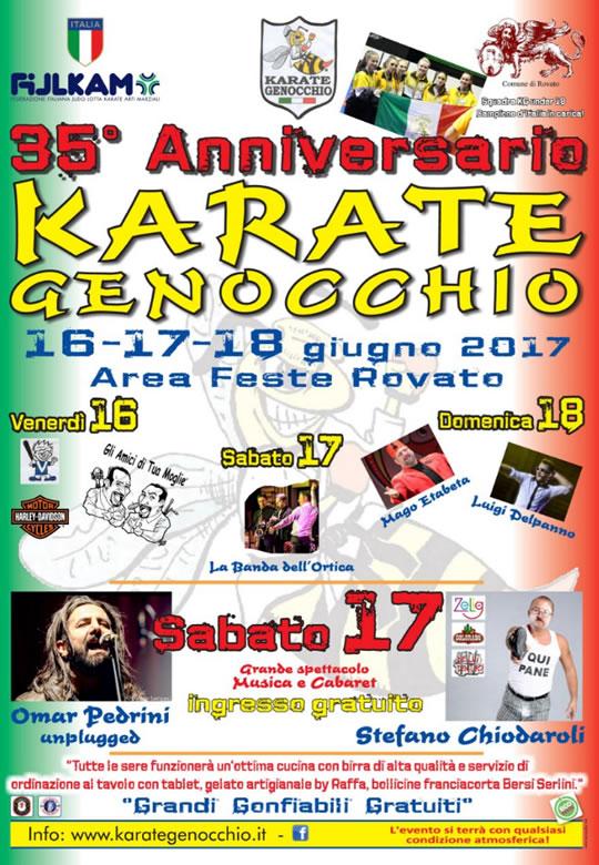 35 Anniversario Karate Genocchio a Rovato