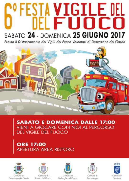 6 Festa Vigile del Fuoco a Desenzano