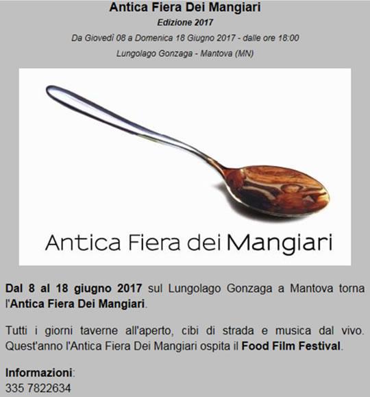 Antica Fiera dei Mangiari a Mantova