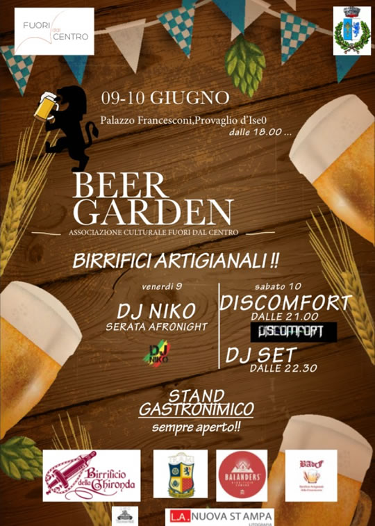 Beer Garden Fest a Provaglio d'Iseo