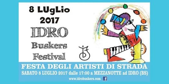 Buskers Festival a Idro
