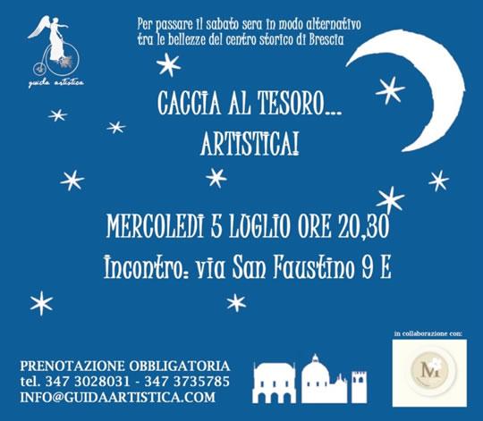 Caccia al Tesoro Artistica a Brescia