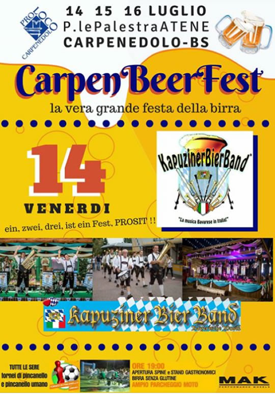 CarpenBeerFest a Carpenedolo