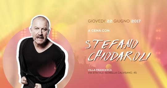 Cena Evento con il comico Stefano Chiodaroli a Isorella